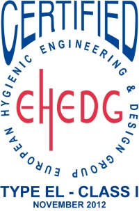 The EHEDG Certification logo for our rotary lobe pump